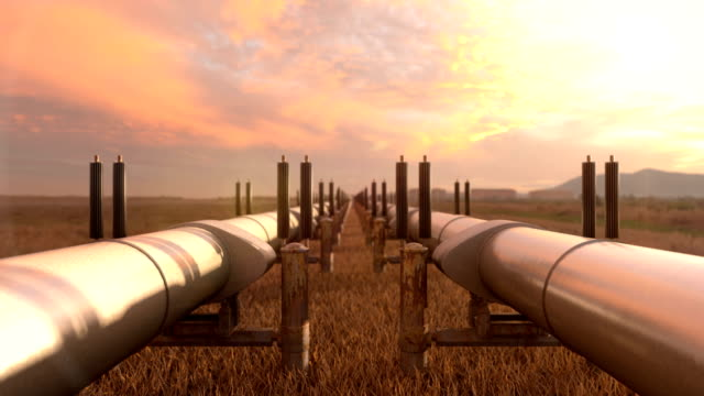 Gas Pipelines with Lng and Crude Oil video