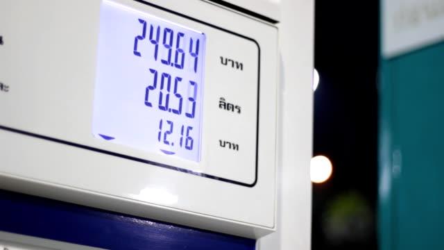 gas pump digital display video