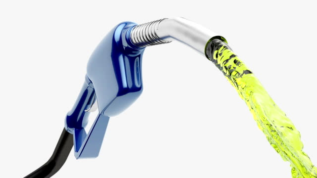 Gas Pump Pump pouring gas biofuel stock videos & royalty-free footage