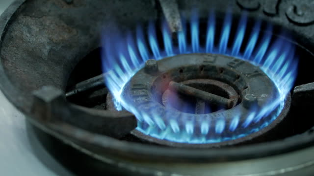 gas stove gas stove appliance stock videos & royalty-free footage