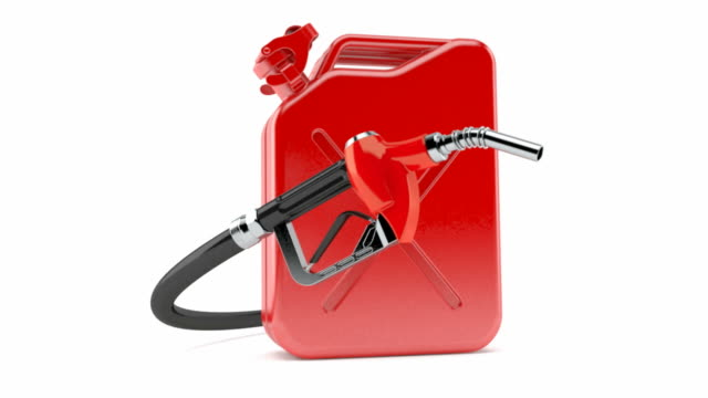 Gasoline nozzle with canister video