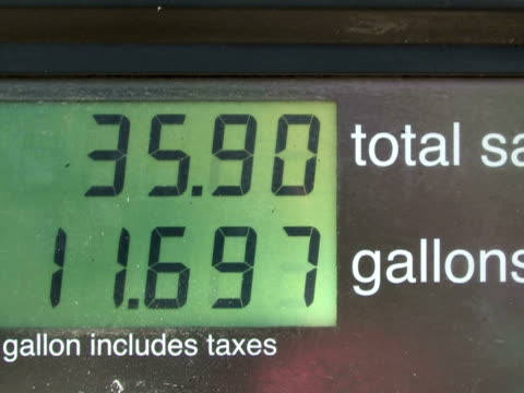 Gasoline Price Counter video