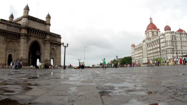Gateway of India & Palace video