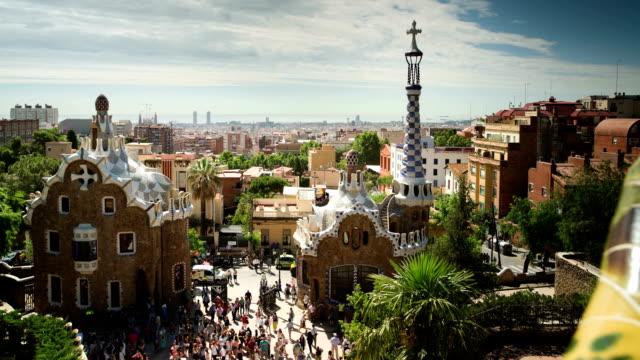 gaudi in barcelona, spain video