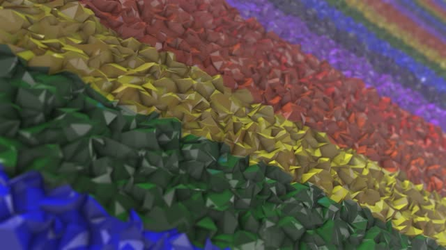 LGBT Gay Lesbian Pride Mardi Gras LGBTQIA graphic background 3D render Gay Pride graphic background 3D render. The letters LGBT & LGBTQIA refer to lesbian, gay, bisexual, transgender, queer or questioning, intersex, and asexual or allied. cisgender stock videos & royalty-free footage