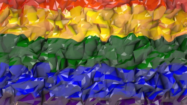 LGBT Gay Lesbian Pride Mardi Gras LGBTQIA graphic background 3D render Gay Pride graphic background 3D render. The letters LGBT & LGBTQIA refer to lesbian, gay, bisexual, transgender, queer or questioning, intersex, and asexual or allied. mardi gras stock videos & royalty-free footage