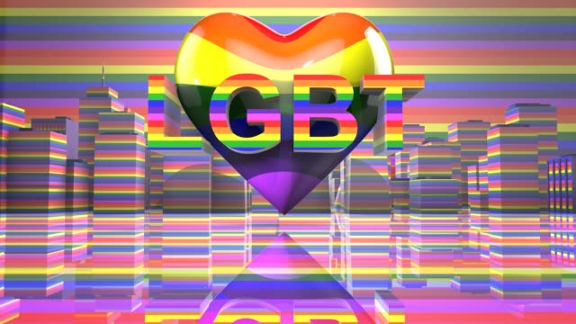 LGBT Gay Pride Mardi Gras graphic title 3D render LGBTQIA+ Community Gay Pride LGBT Mardi Gras graphic title 3D render. The letters LGBT & LGBTQIA refer to lesbian, gay, bisexual, transgender, queer or questioning, intersex, and asexual or allied. cisgender stock videos & royalty-free footage