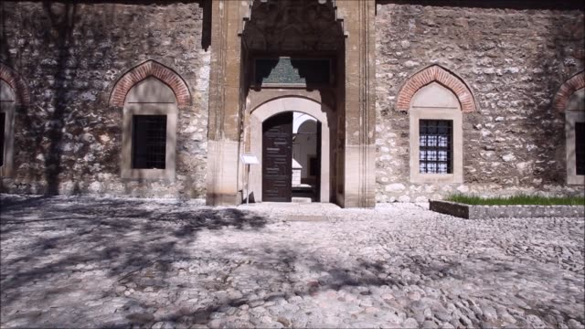 Gazi Husrev-beg Madrasa in Sarajevo, Bosnia and Herzegovina video