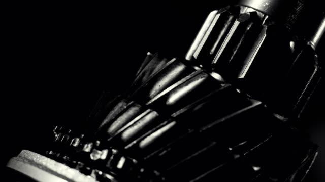 gear shaft bakgrunder - växelspak bildbanksvideor och videomaterial från bakom kulisserna