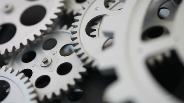 vidéos et rushes de gear système - rouage