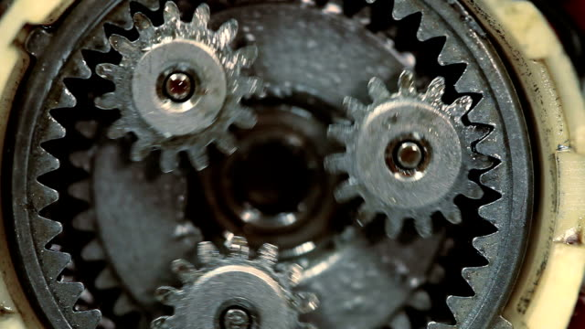 Gears Gears in motion machinery stock videos & royalty-free footage