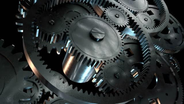vidéos et rushes de engrenages - rouage mécanisme