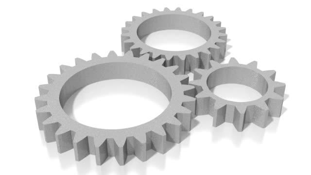 3D gears video