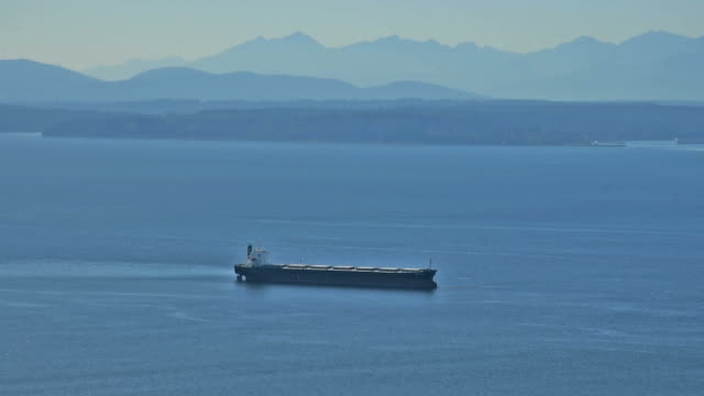 General cargo ship  in seattle