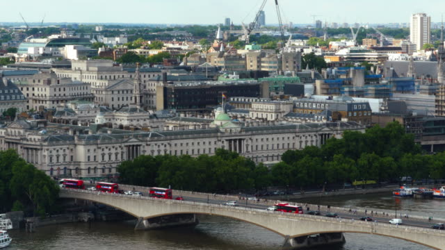 General view of London General view of London from the London Eye general view stock videos & royalty-free footage
