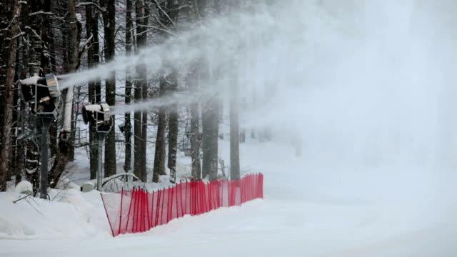 generators of snow - mountain top stok videoları ve detay görüntü çekimi