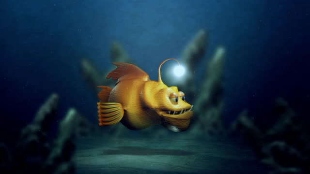 generic 3d animated children's cartoon show for corner pin screens - żabnicokształtne filmów i materiałów b-roll
