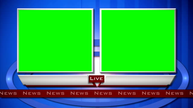 Generic Live News Interview Split Screen video