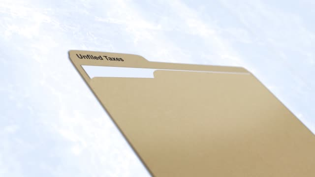 Generic Manila folder series - Unfiled Taxes