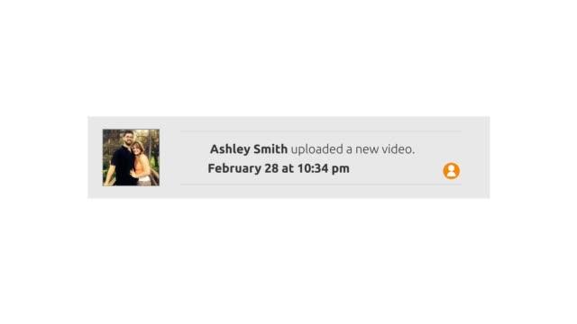 Generic Social Media Pop-Up Notification - Uploaded a new video video
