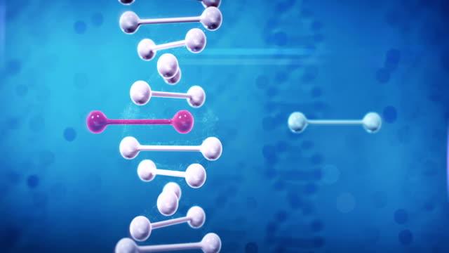 ゲノム編集 (垂直, ブルー) - 編集者点の映像素材/bロール
