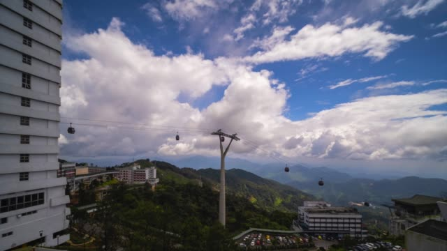 genting highland  time lapse - malaysia video stock e b–roll
