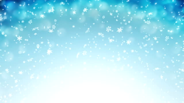 gentle christmas morning snow - seamless loop - snöflinga bildbanksvideor och videomaterial från bakom kulisserna