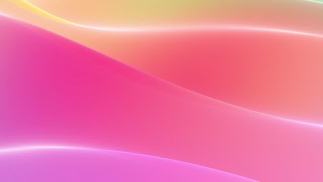 vídeos de stock, filmes e b-roll de gradientes suaves fundo multicolorido em loop - liso