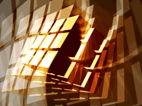 Geometric Rorschach Cube Design video