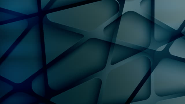 sfondo triangoli geometrici - caleidoscopio motivo video stock e b–roll