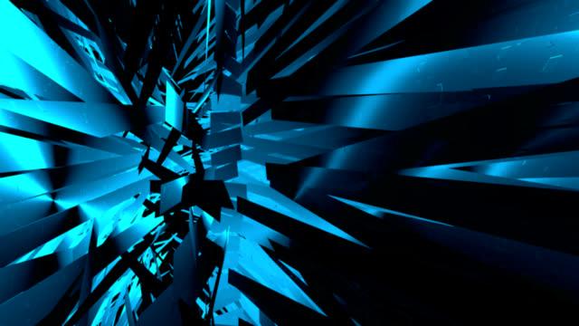 stockvideo's en b-roll-footage met geometrical background.3d animation - magazine mockup