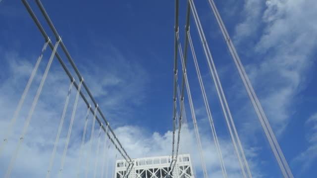 George Washington Bridge tower viewed from road