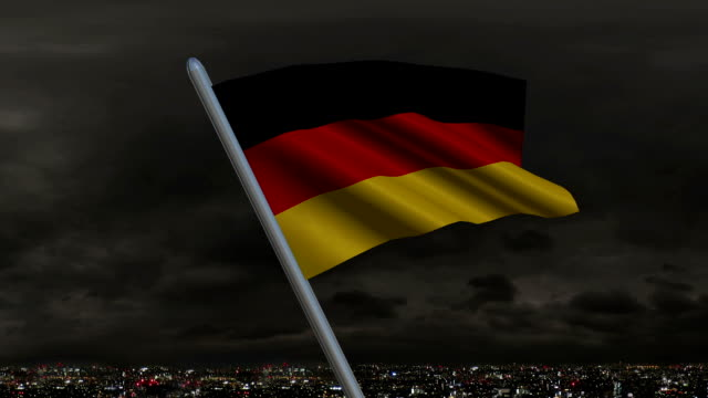 German Flag Animation video