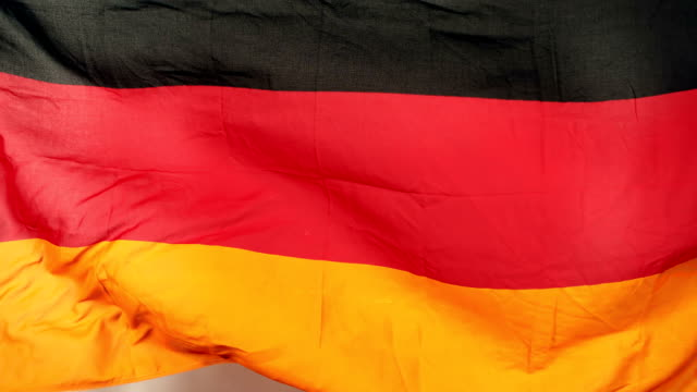 German flag blowing video