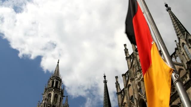독일형 플랙 in 뮌헨 - home 스톡 비디오 및 b-롤 화면