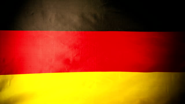 German National Flag - Full Screen - Dark Background video