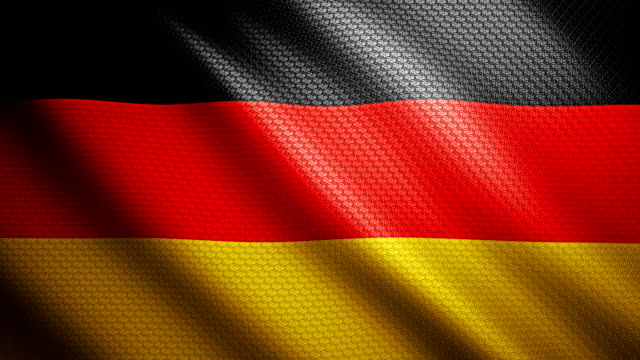 Germany Flag 4K video