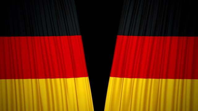 Germany Flag Curtain cloth video