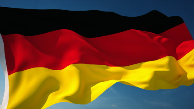 4K Germany Flag - Loopable video