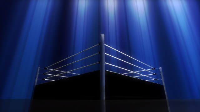 get in the ring - background hd - wrestling stock videos and b-roll footage