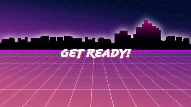 Get ready message from an arcade game