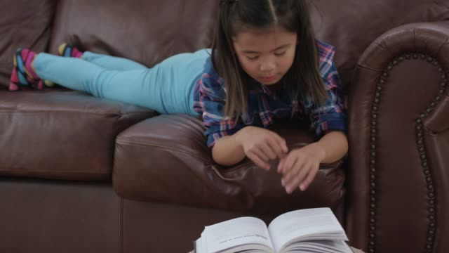 Getting Comfortable to Read video