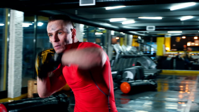 Getting fit with boxing video