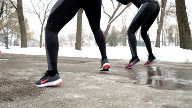 vidéos et rushes de préparez-vous pour la course - twerk