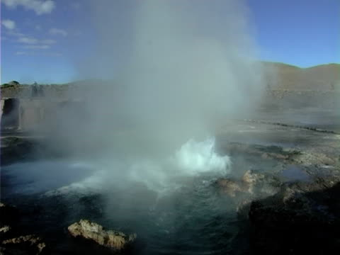 stockvideo's en b-roll-footage met geyser - natuurgrond