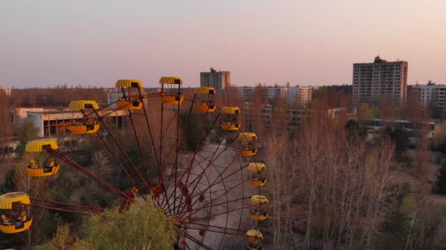 ghost town pripyat near chernobyl npp, ukraine - rusty stock videos & royalty-free footage