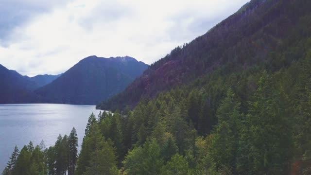 Giant Lake in Mountains 0