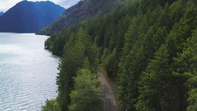 Giant Lake in Mountains 04