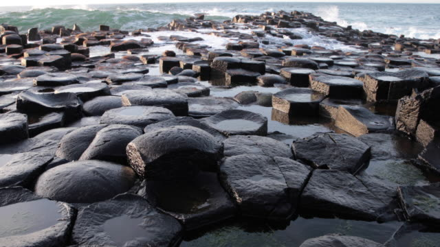 Giant's causeway in Northern Ireland video