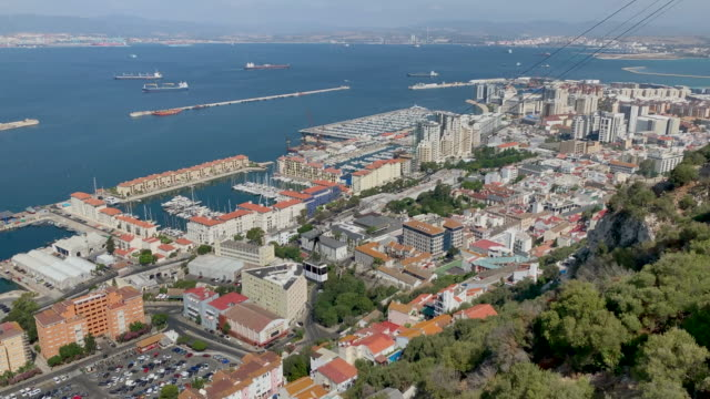 Gibraltar Cable Car Point of View